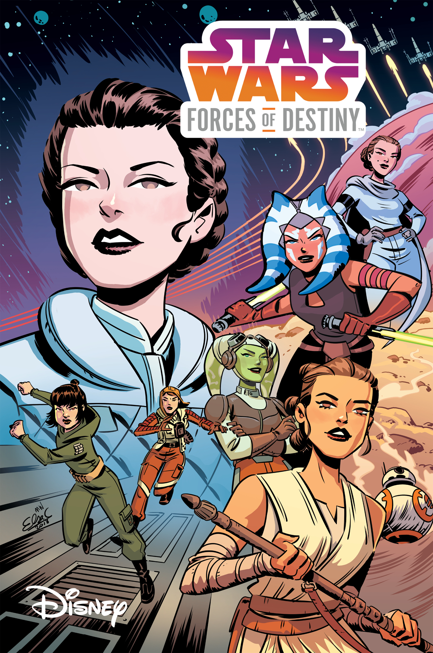 STAR WARS ADVENTURES FORCES OF DESTINY TP (JAN180494)