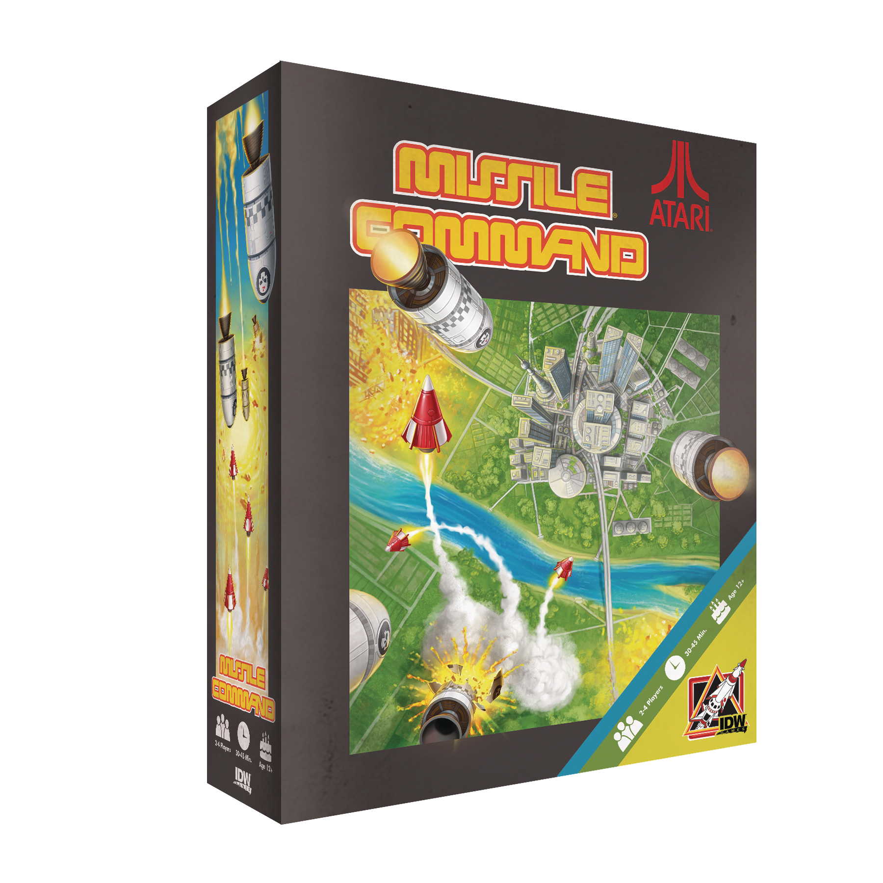ATARI MISSILE COMMAND GAME