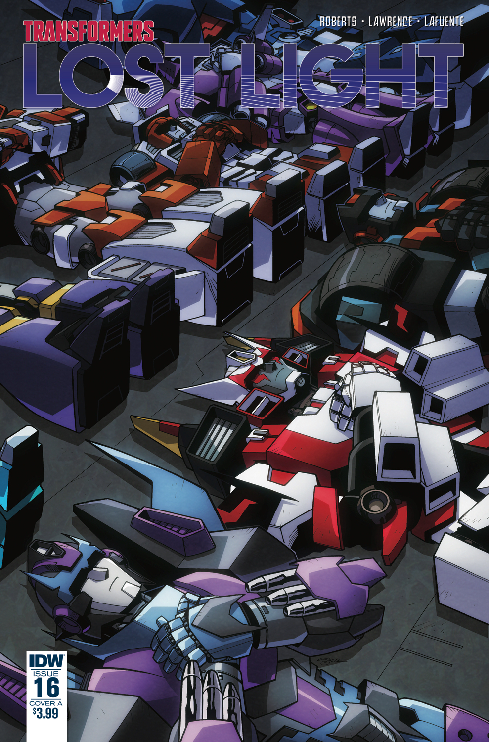 TRANSFORMERS LOST LIGHT #16 CVR A LAWRENCE