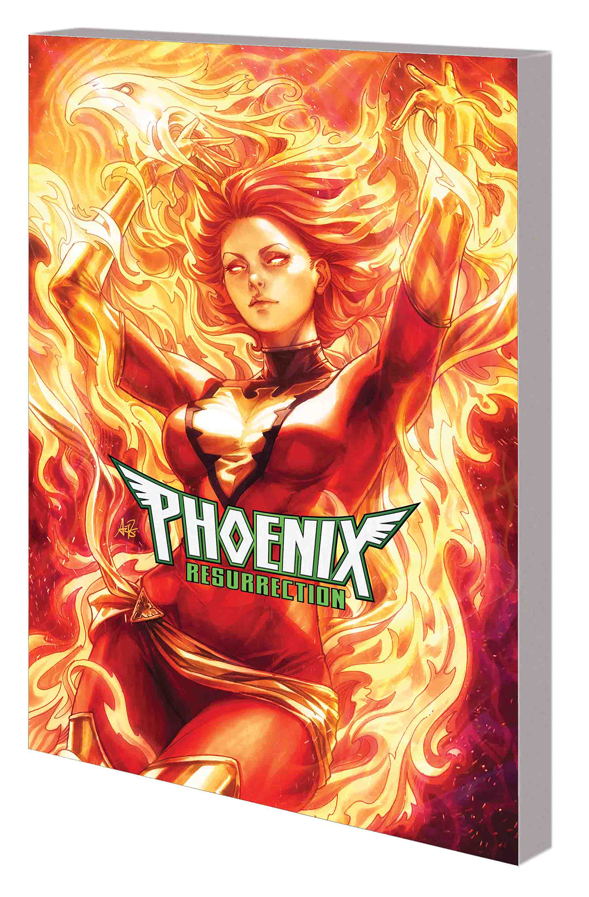 PHOENIX RESURRECTION RETURN JEAN GREY TP ARTGERM DM VAR