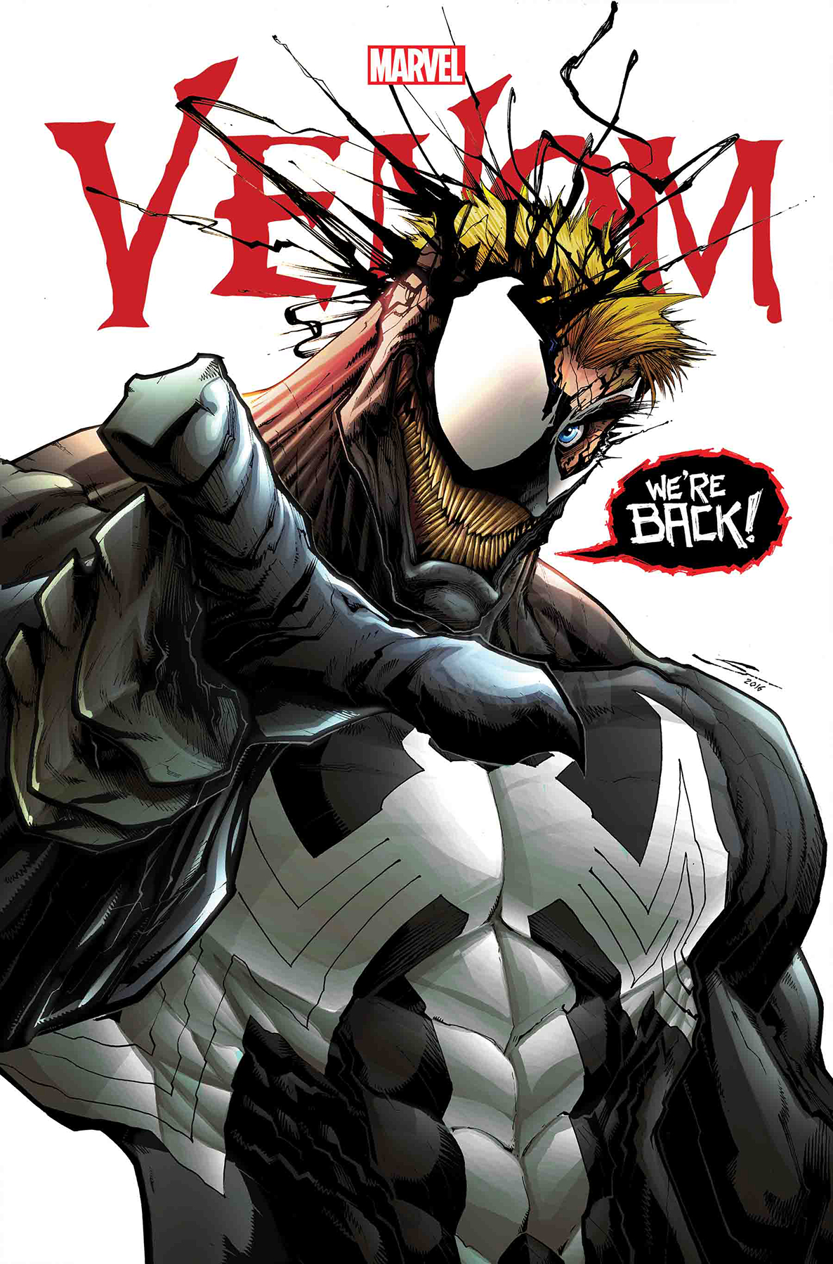 TRUE BELIEVERS VENOM HOMECOMING #1