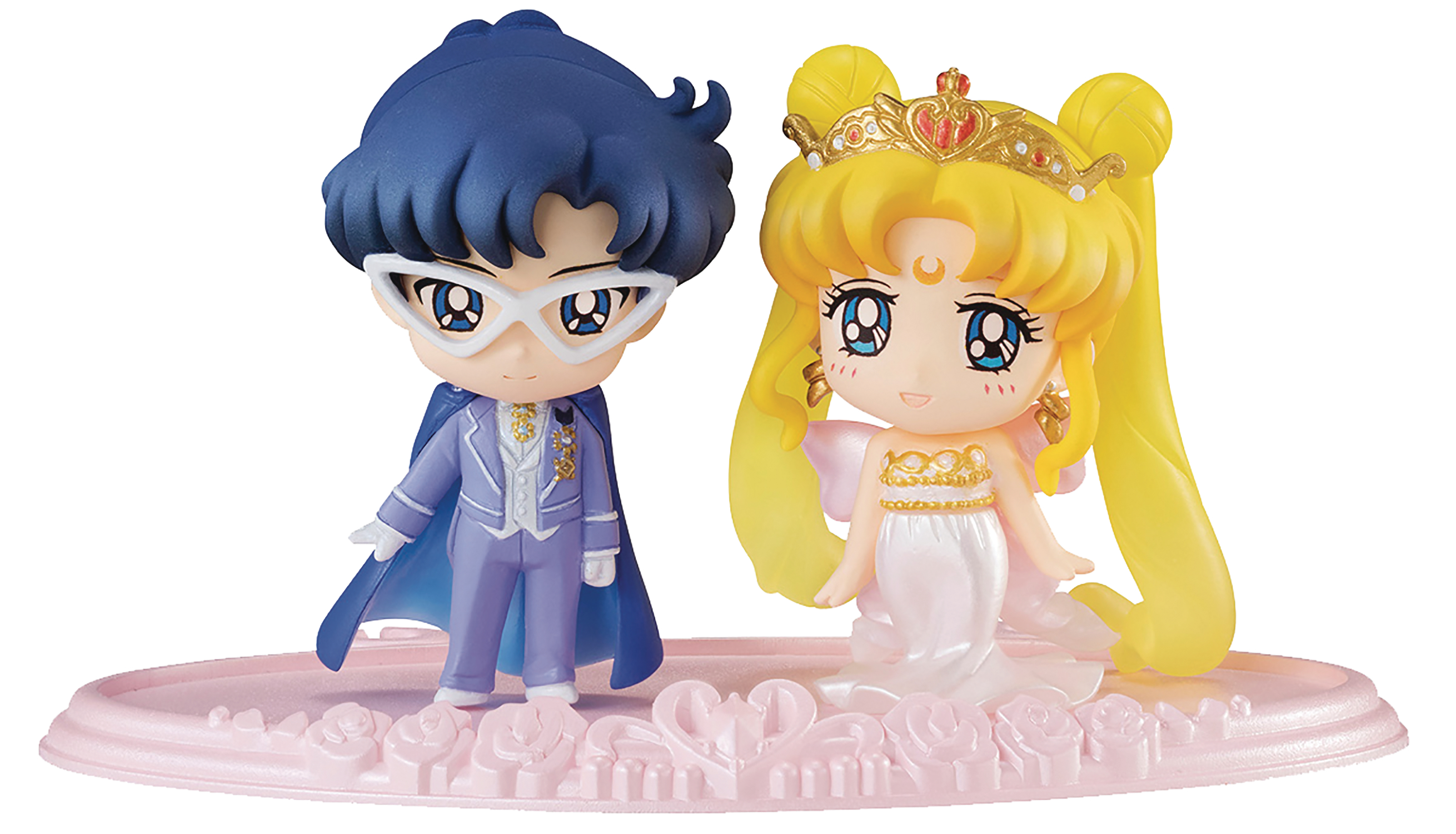 SAILOR MOON PETIT CHARA NEO QUEEN & KING 2PK FIG SET