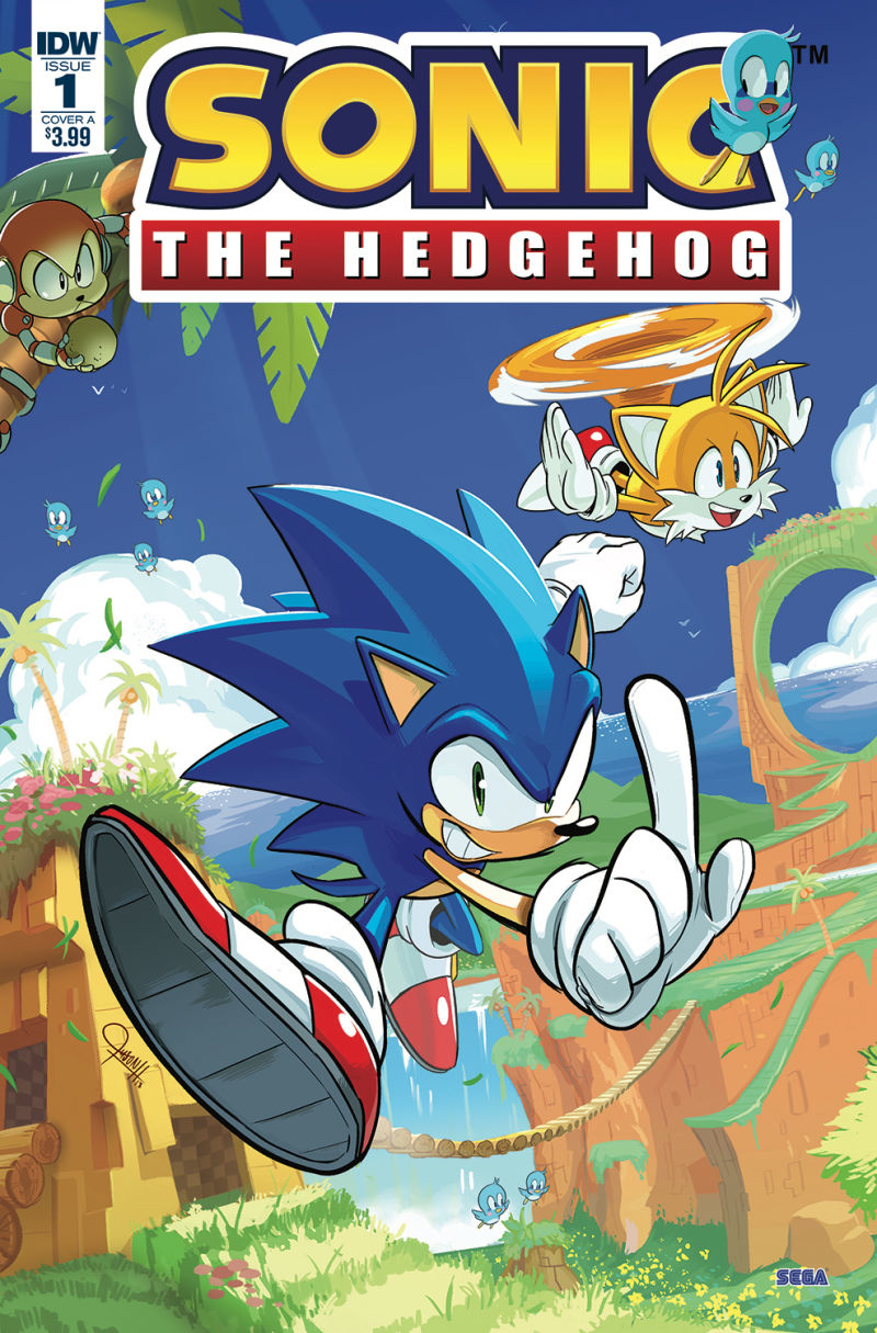 (USE MAR188177) SONIC THE HEDGEHOG #1 CVR A HESSE