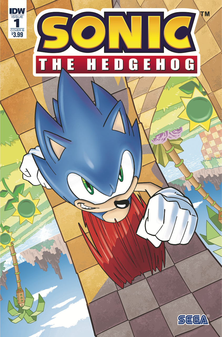 (USE MAR188177) SONIC THE HEDGEHOG #1 CVR B YARDLEY