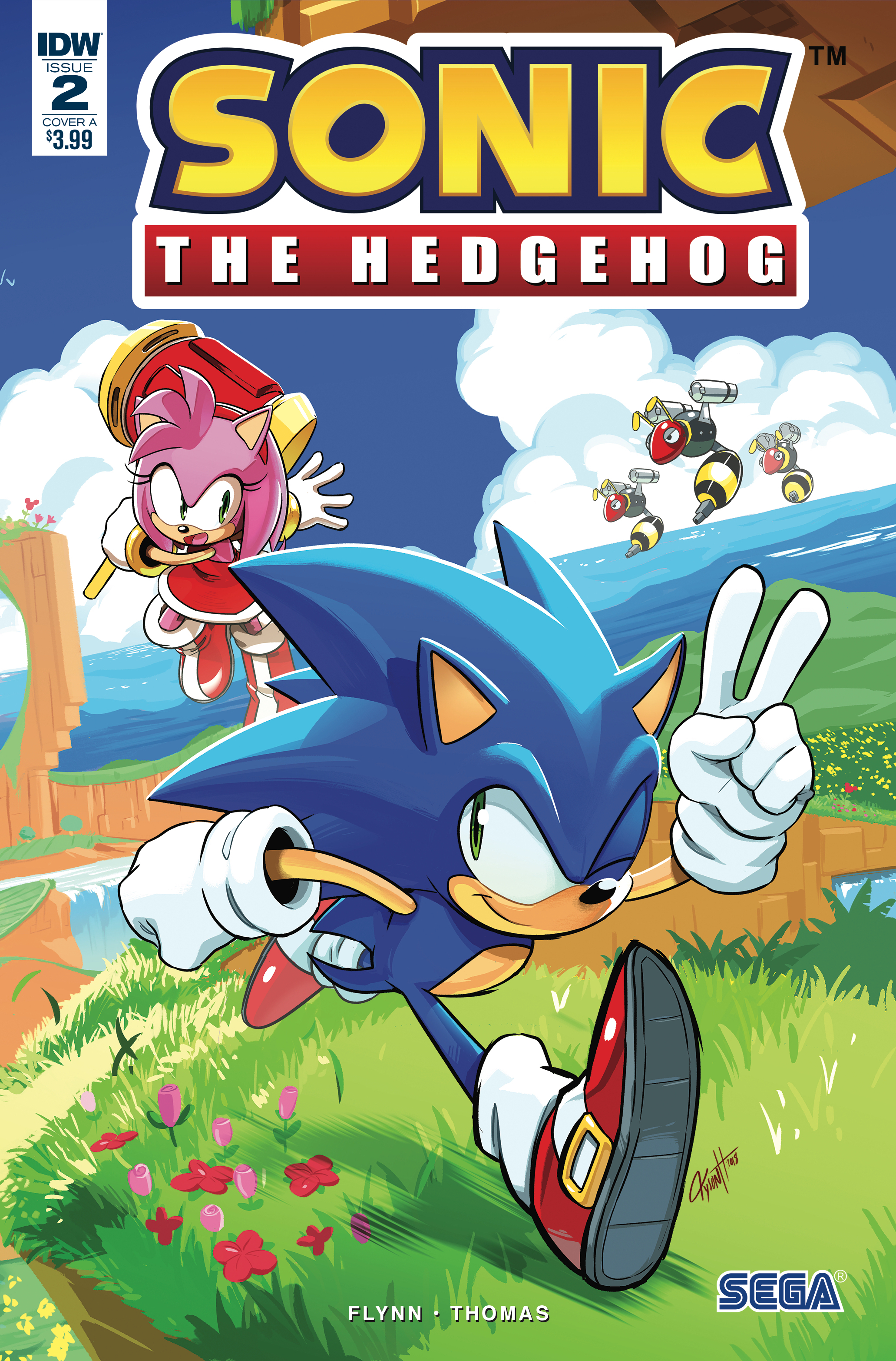 SONIC THE HEDGEHOG #2 CVR A HESSE