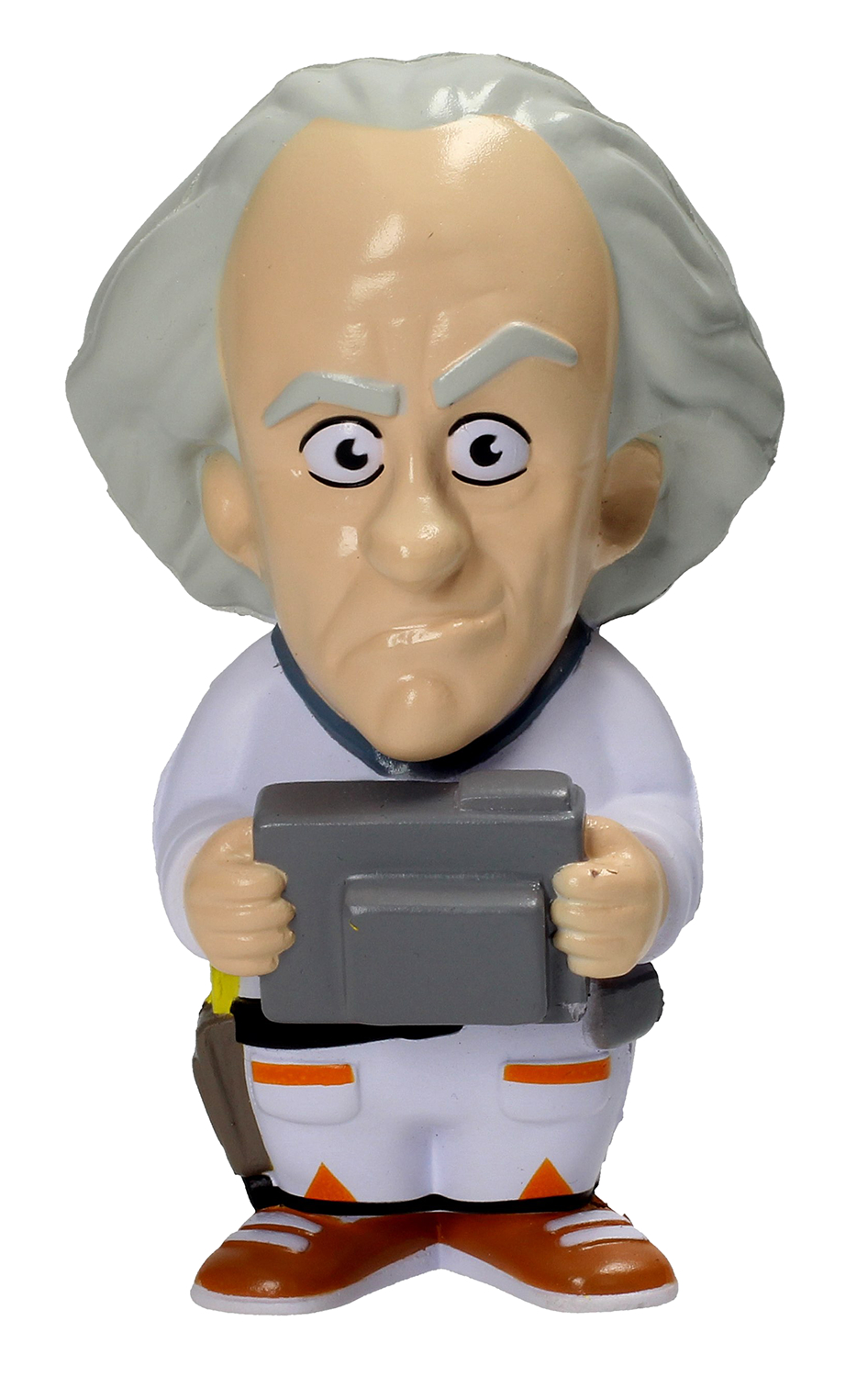 BACK TO THE FUTURE DOC BROWN STRESS DOLL (NOV178078)
