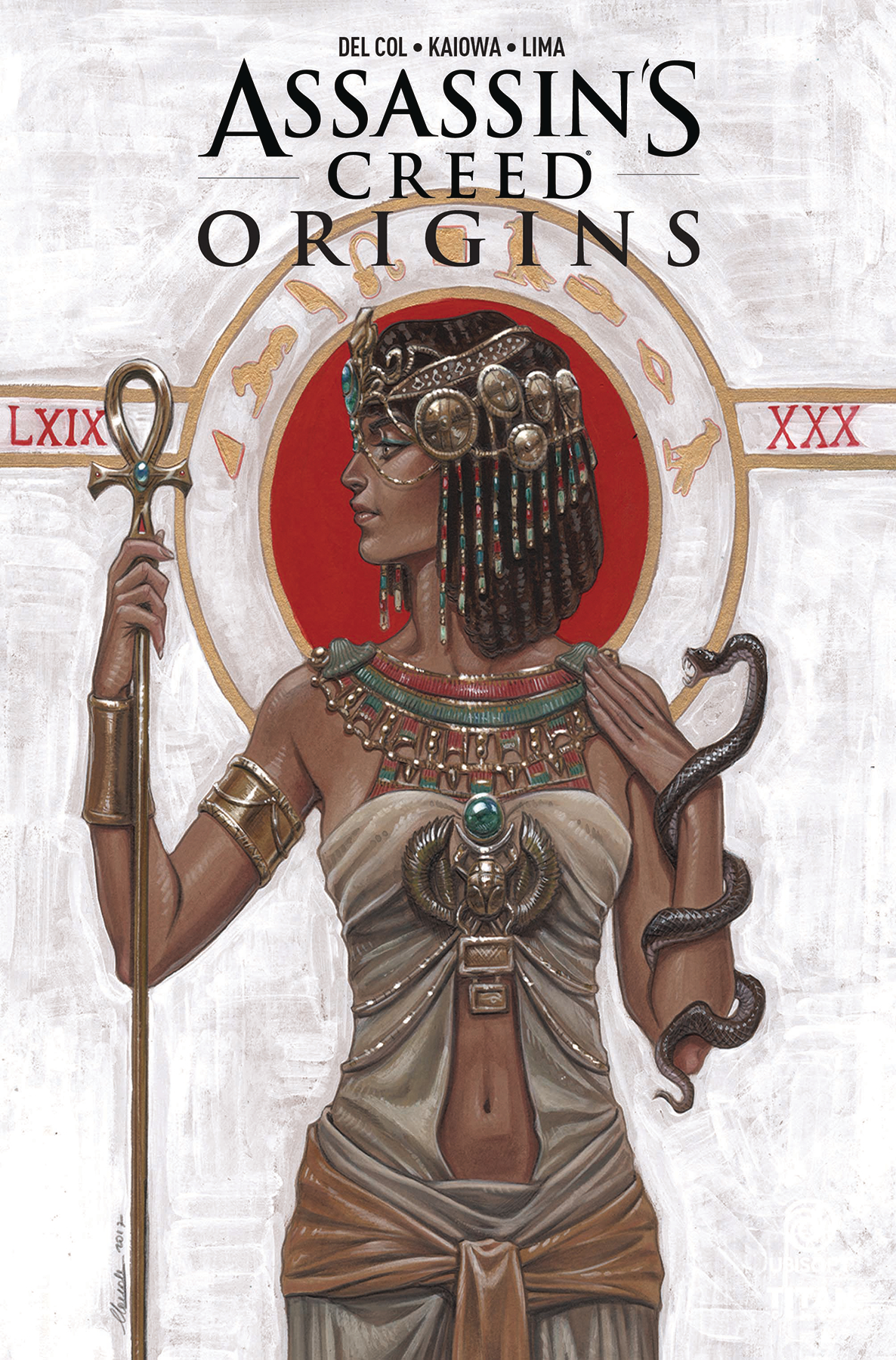ASSASSINS CREED ORIGINS #4 (OF 4) CVR B IONNICIELLO