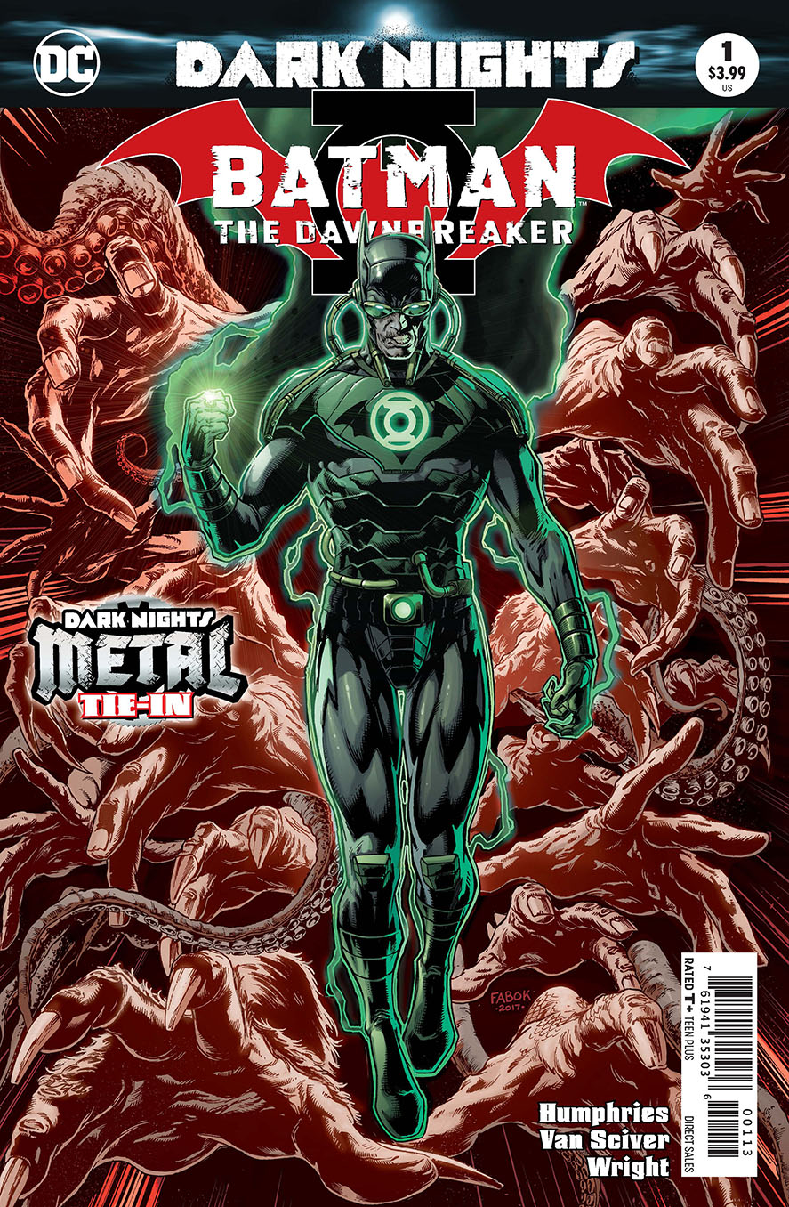 BATMAN THE DAWNBREAKER #1 3RD PTG METAL