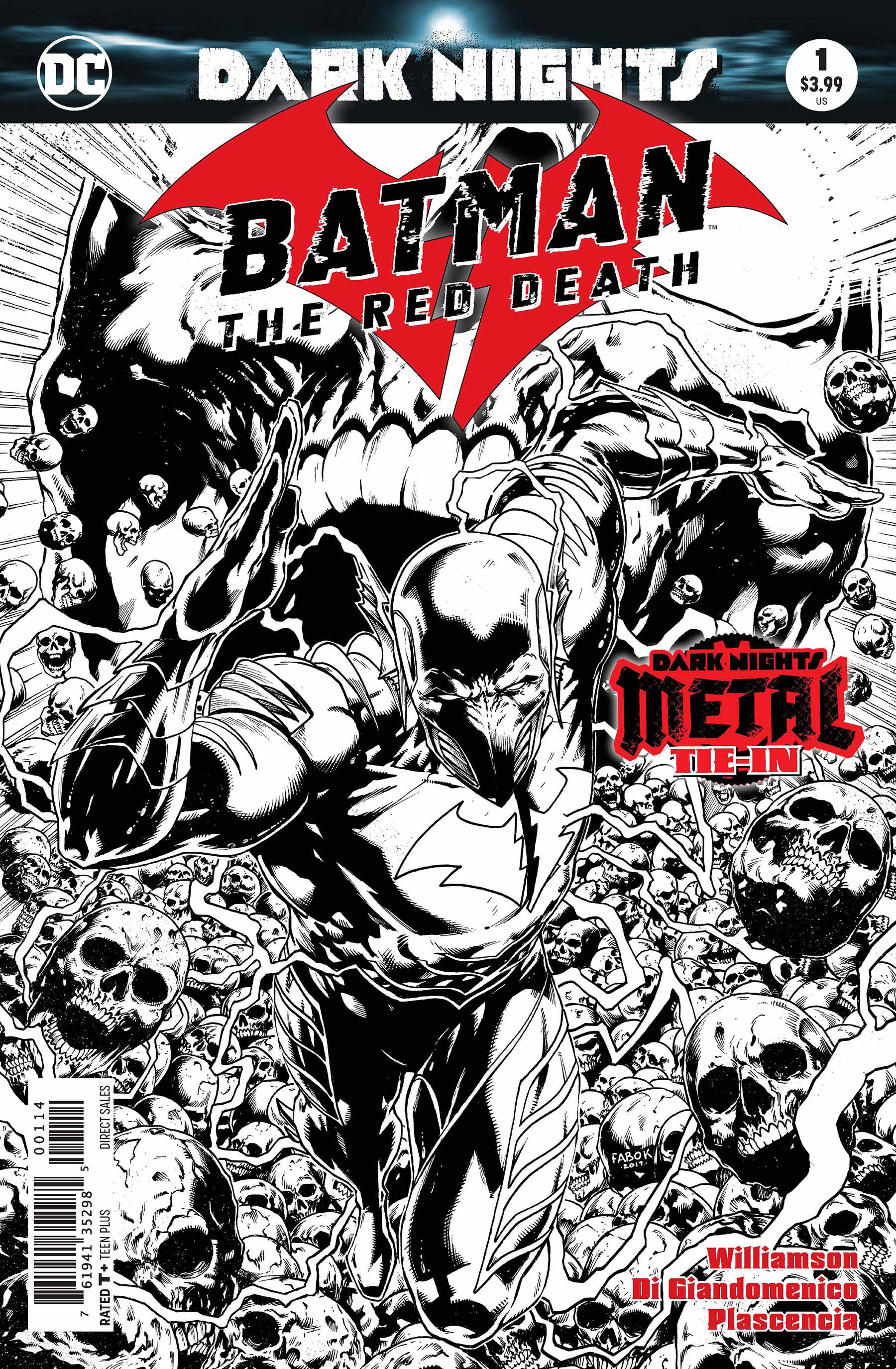 BATMAN THE RED DEATH #1 4TH PTG METAL