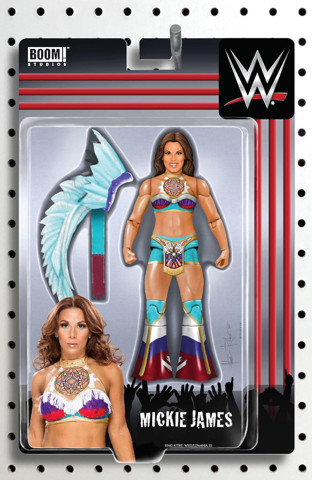 WWE #16 RICHES ACTION FIGURE VAR