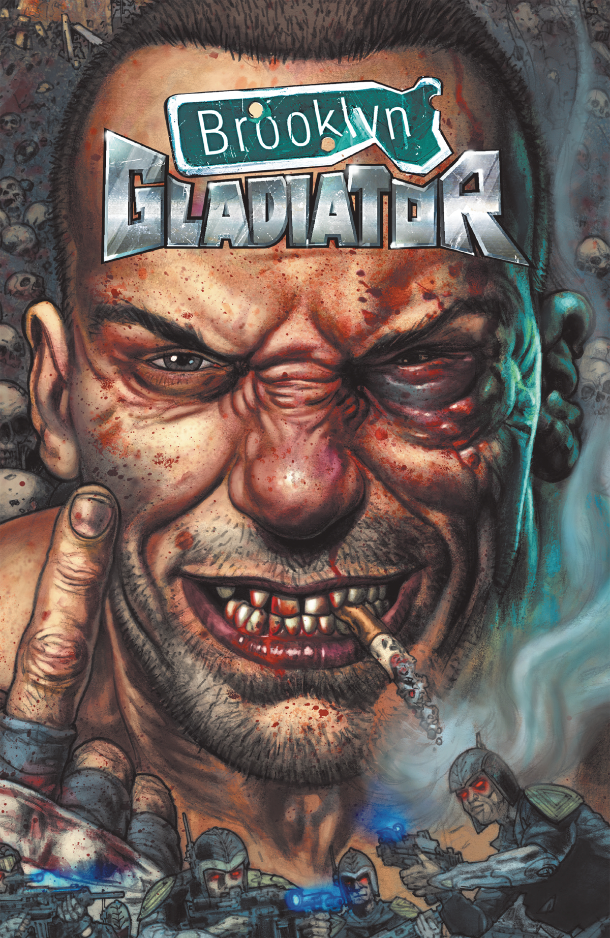 BROOKLYN GLADIATOR TP VOL 00 (O/A) (MR)