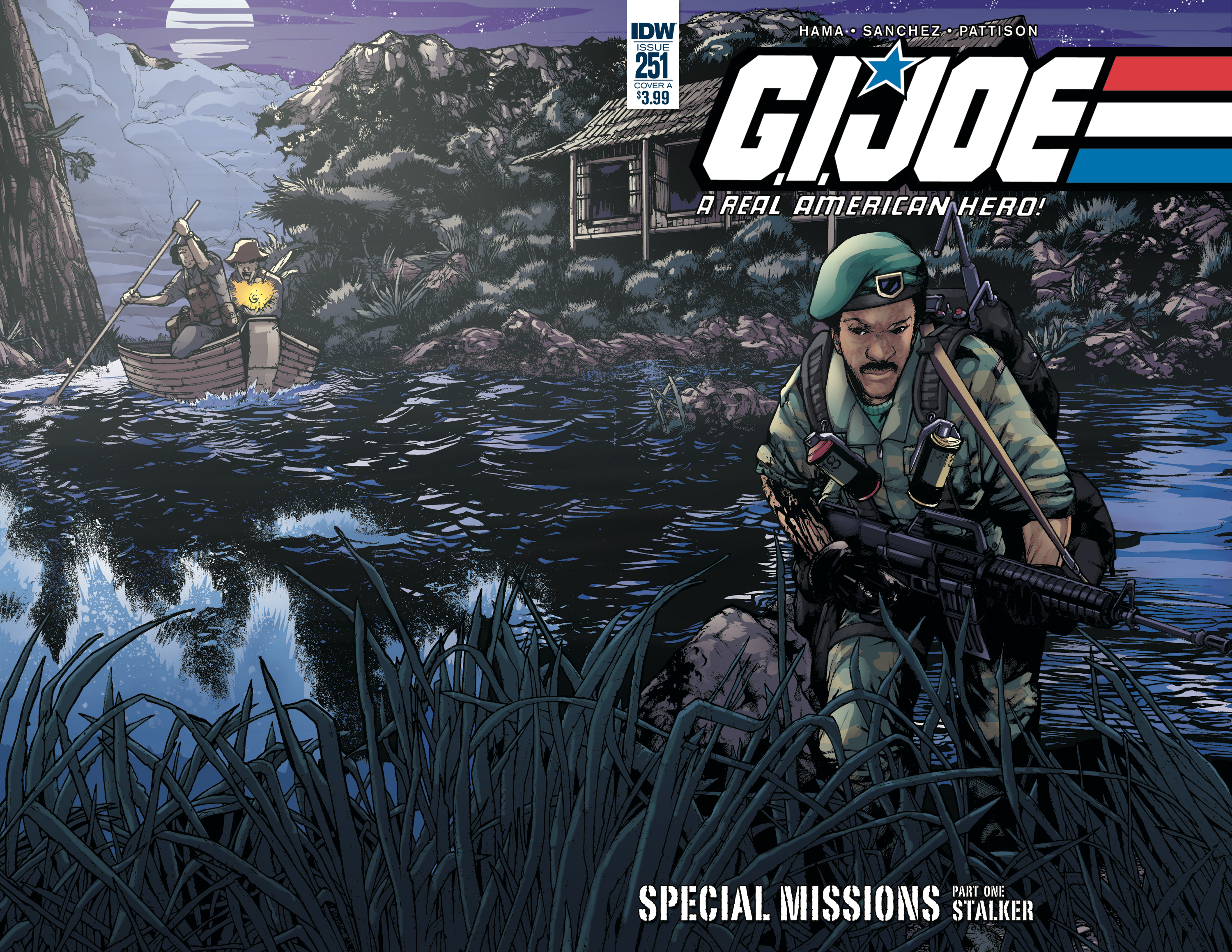 GI JOE A REAL AMERICAN HERO #251 CVR A SANCHEZ