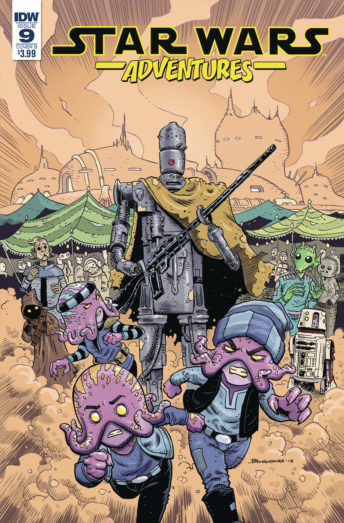 STAR WARS ADVENTURES #9 CVR B BROKENSHIRE