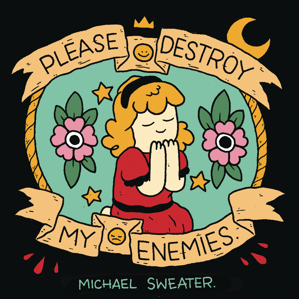 PLEASE DESTROY MY ENEMIES FULL COLOR ED GN