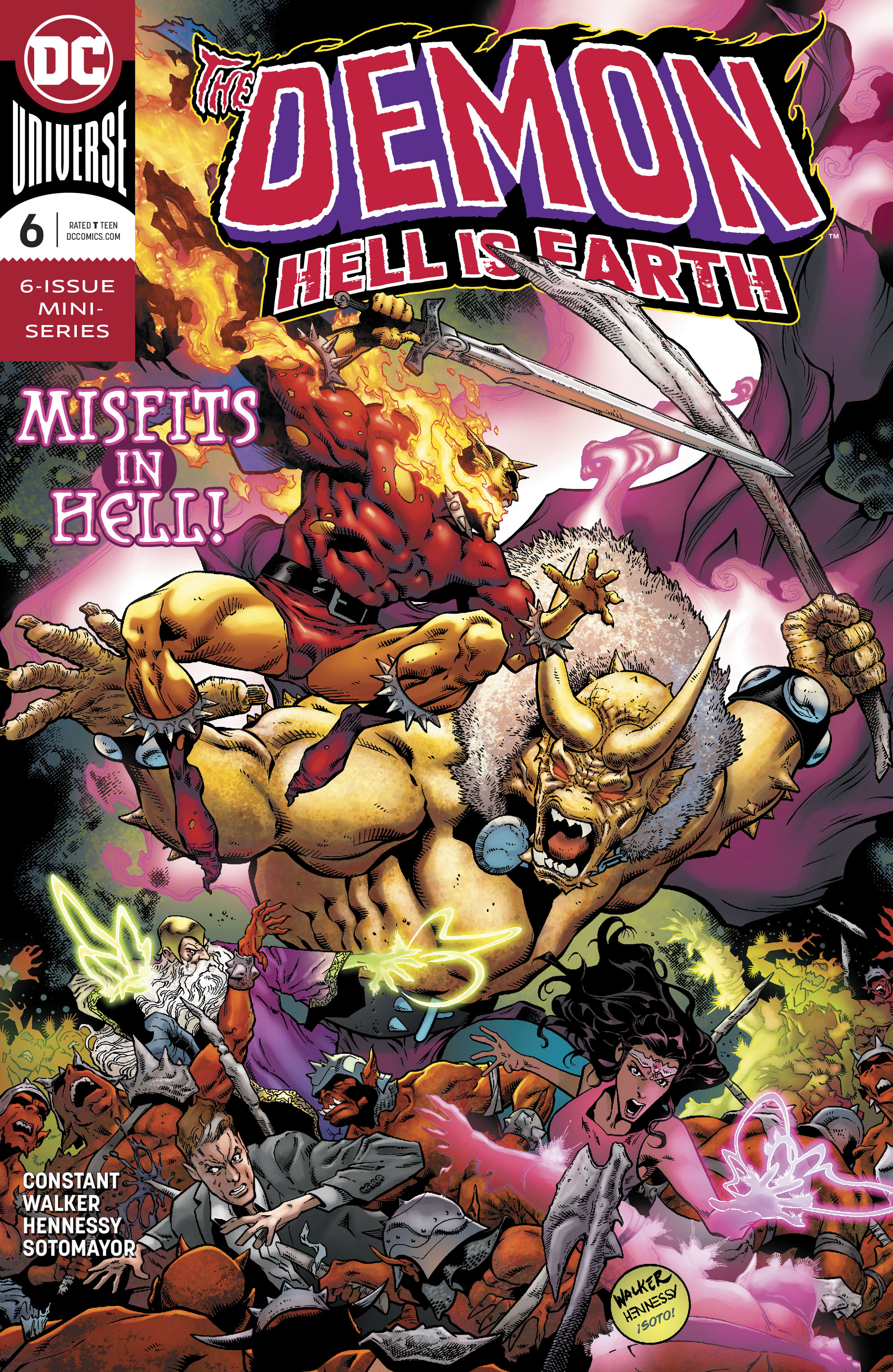 DEMON HELL IS EARTH #6 (OF 6)