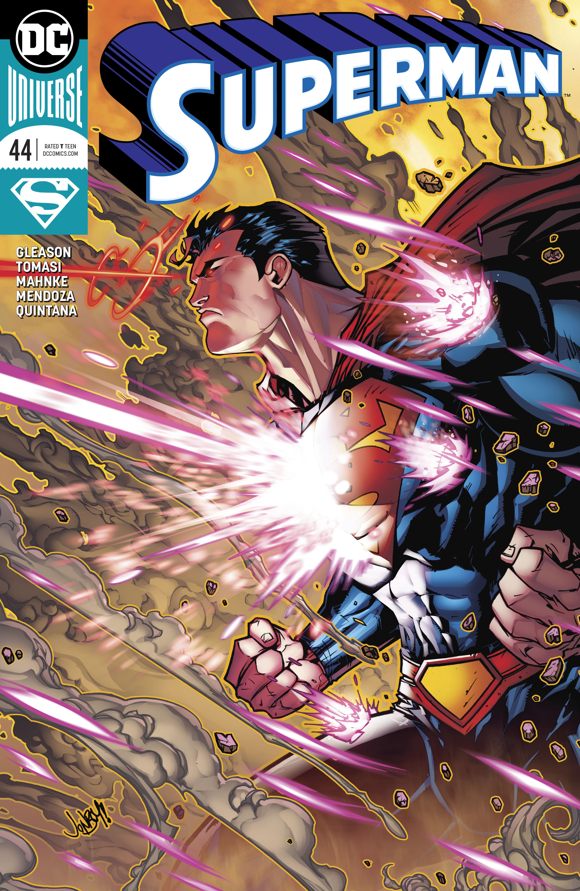 SUPERMAN #44 VAR ED