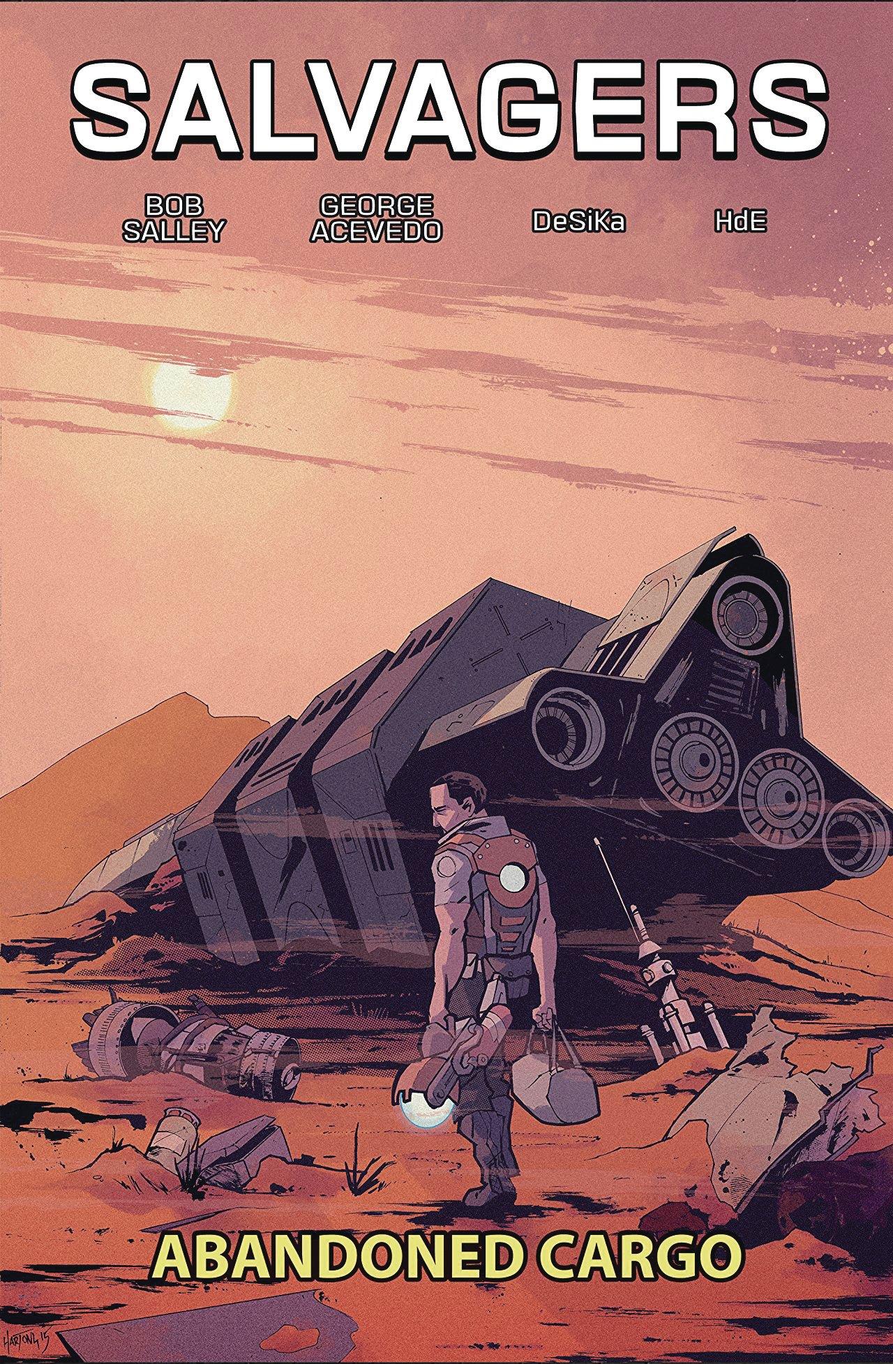 SALVAGERS TP VOL 01 ABANDONED CARGO (O/A)