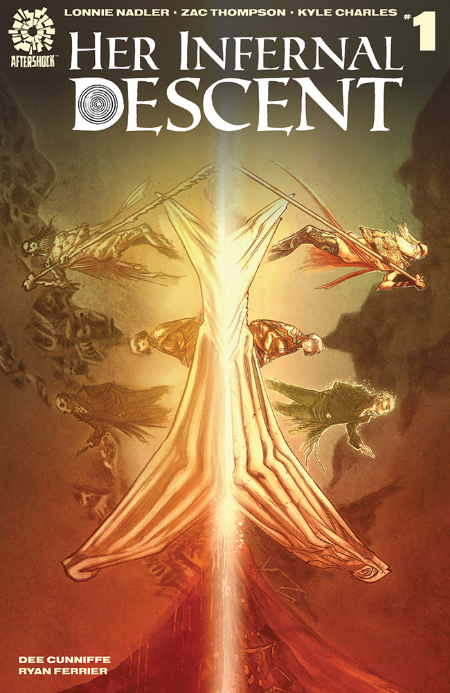 HER INFERNAL DESCENT #1 CVR A CHARLES