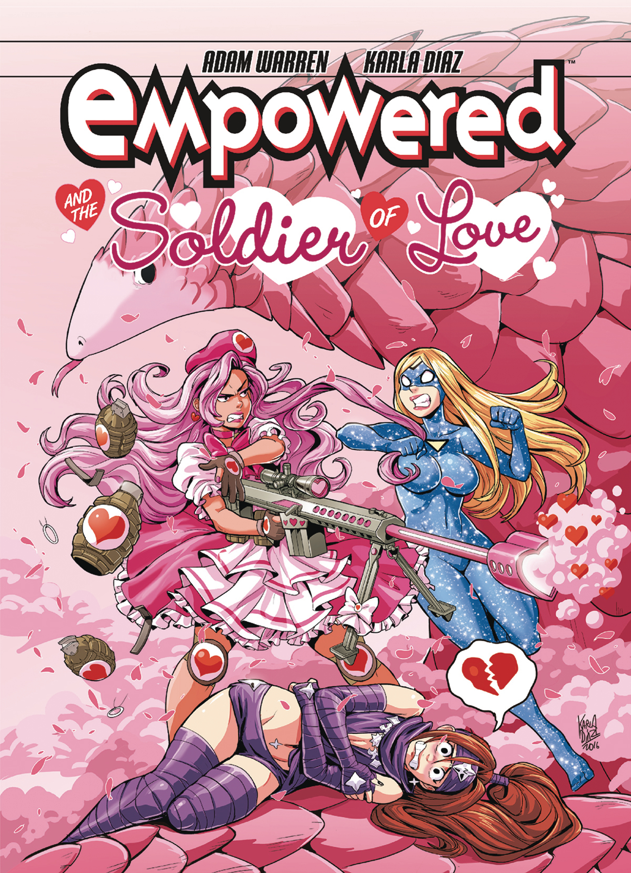 EMPOWERED & SOLDIER OF LOVE TP (FEB180067)