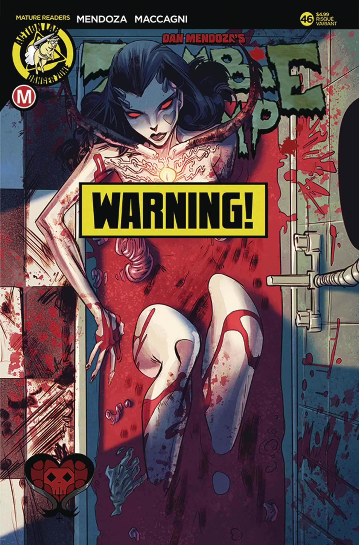 ZOMBIE TRAMP ONGOING #46 CVR B CELOR RISQUE (MR)