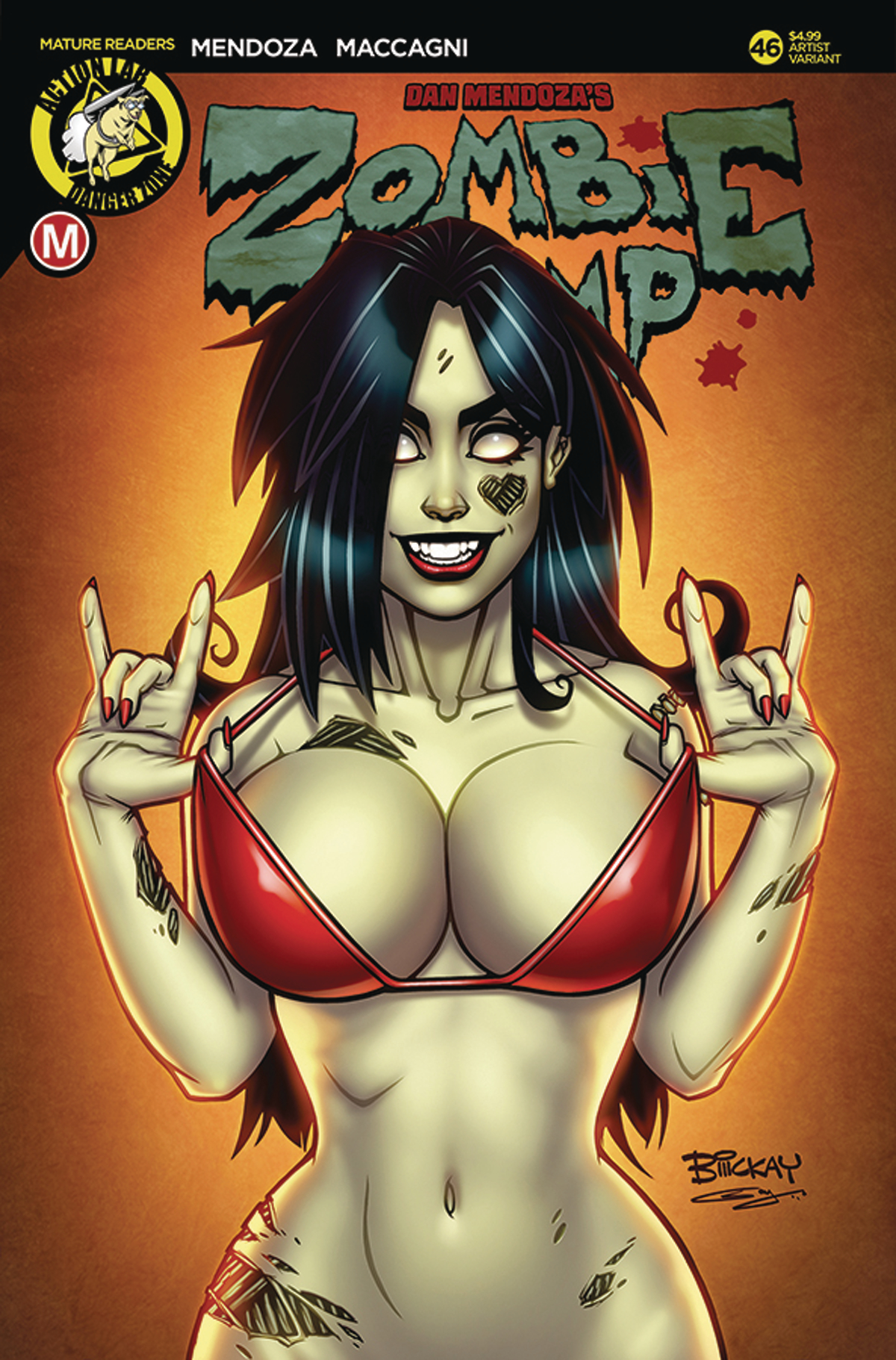 ZOMBIE TRAMP ONGOING #46 CVR C MCKAY (MR)