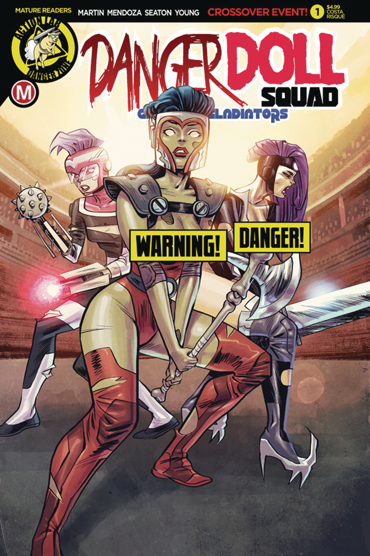 DANGER DOLL SQUAD GALACTIC GLADIATORS #1 CVR D COSTA RISQUE