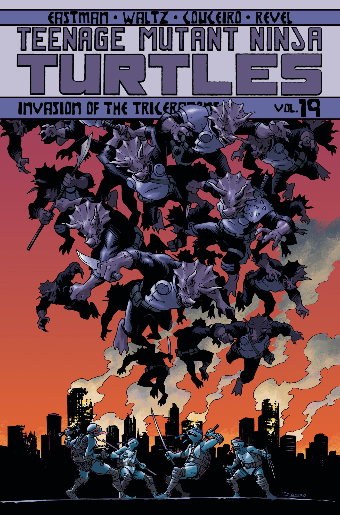 TMNT ONGOING TP VOL 19 INVASION OF THE TRICERATONS