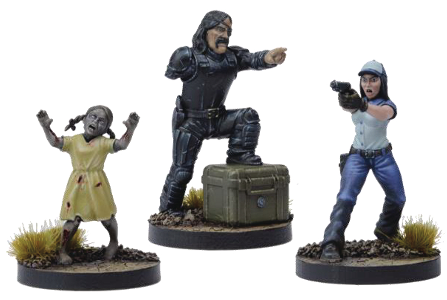WALKING DEAD ALL OUT WAR MINI GAME GOVERNOR BOOSTER