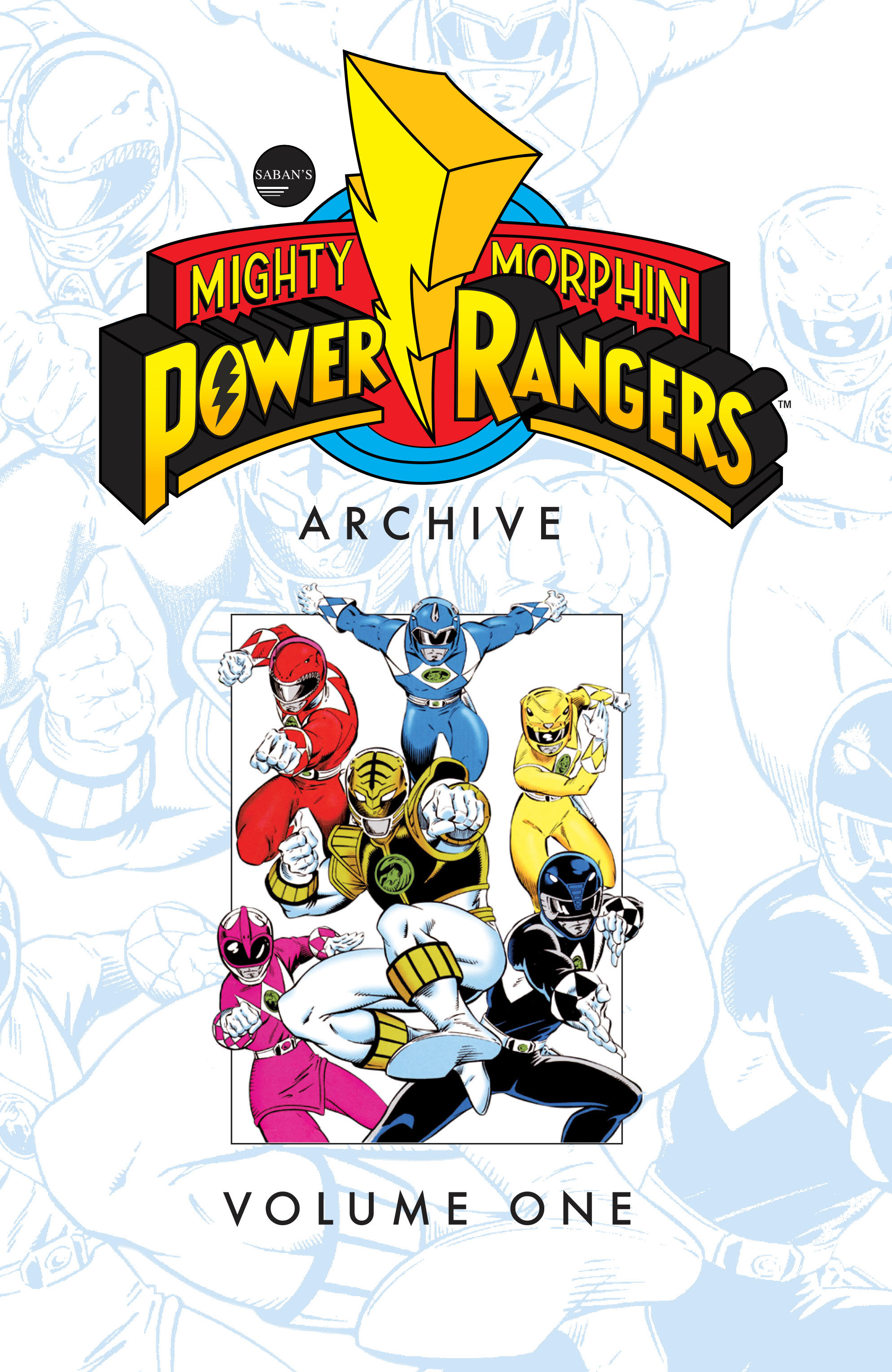 MIGHTY MORPHIN POWER RANGERS ARCHIVE TP VOL 01