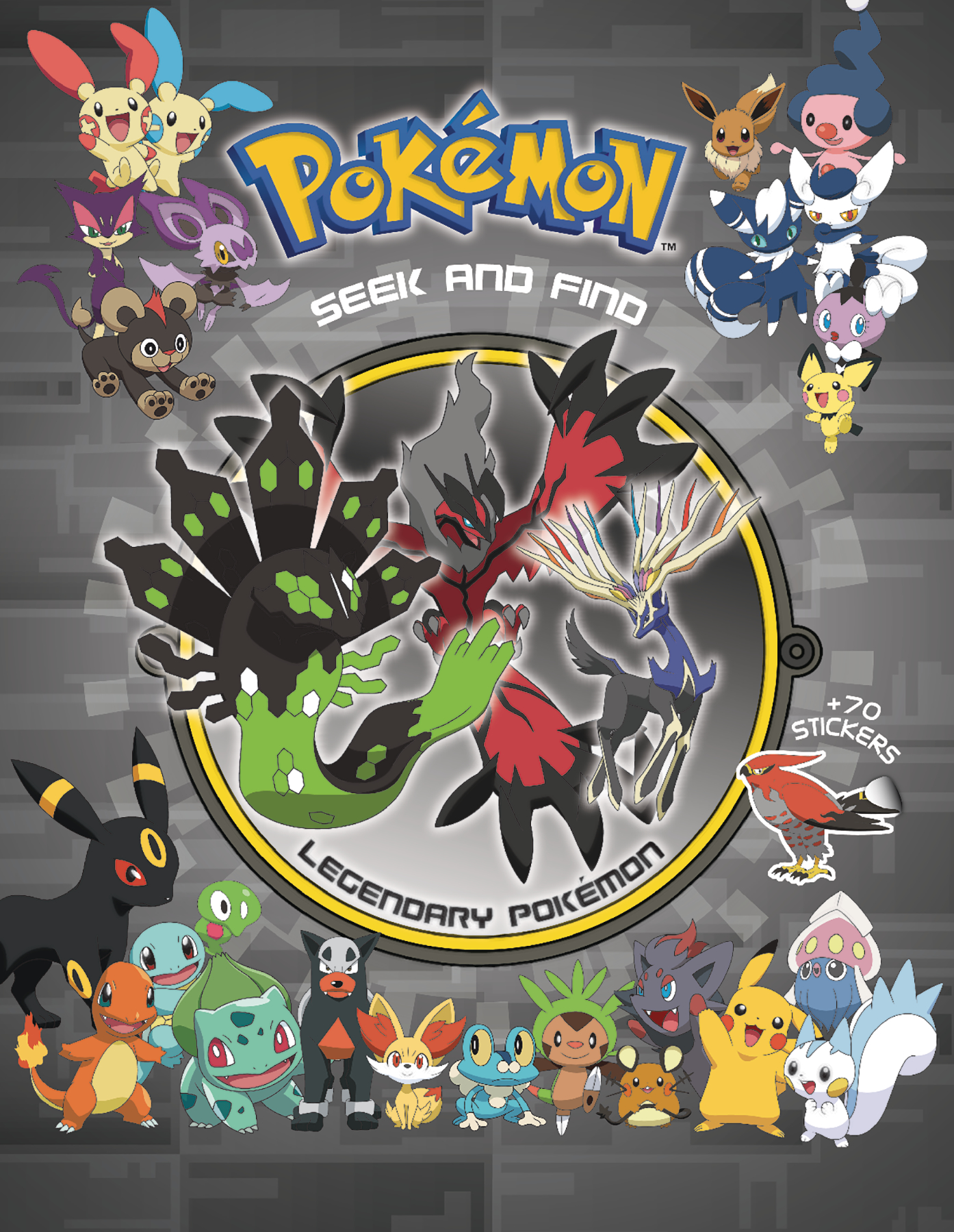 POKEMON SEEK & FIND HC LEGENDARY POKEMON