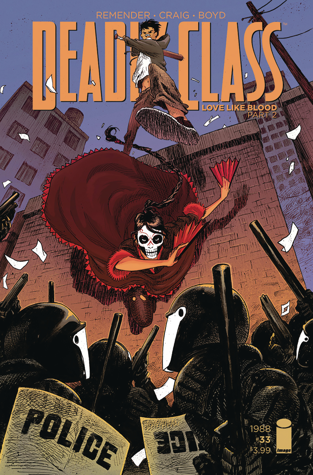 DEADLY CLASS #33 CVR B STOKELY (MR)