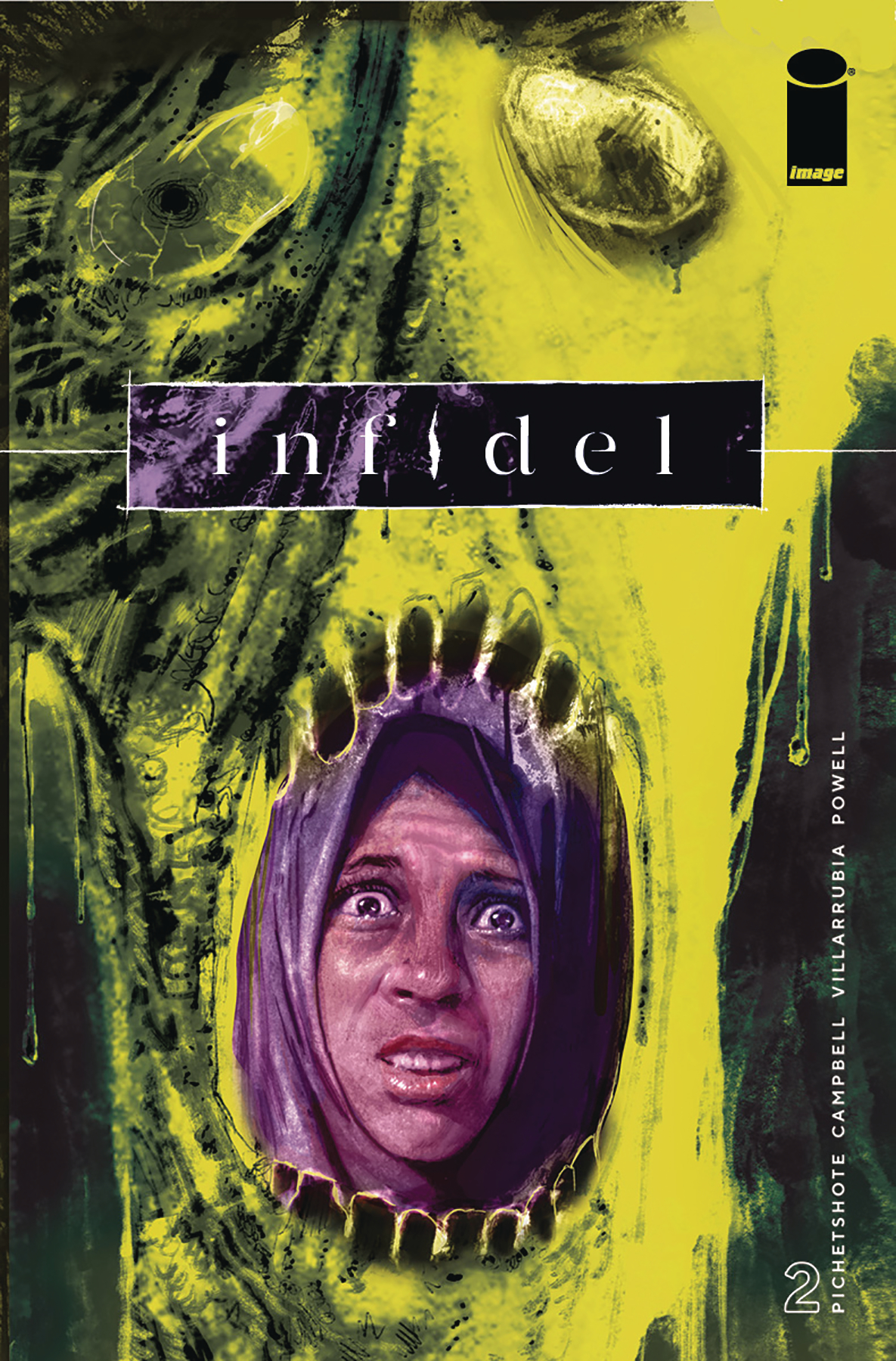INFIDEL #2 (OF 5) CVR A CAMPBELL & VILLARRUBIA (MR)