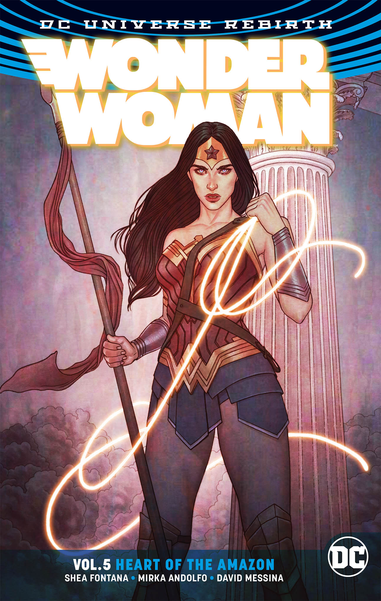 WONDER WOMAN TP VOL 05 HEART OF THE AMAZON TP REBIRTH