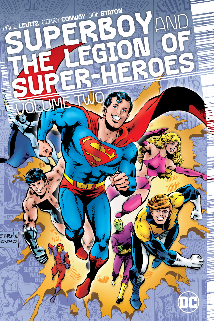 SUPERBOY AND THE LEGION OF SUPERHEROES HC VOL 02