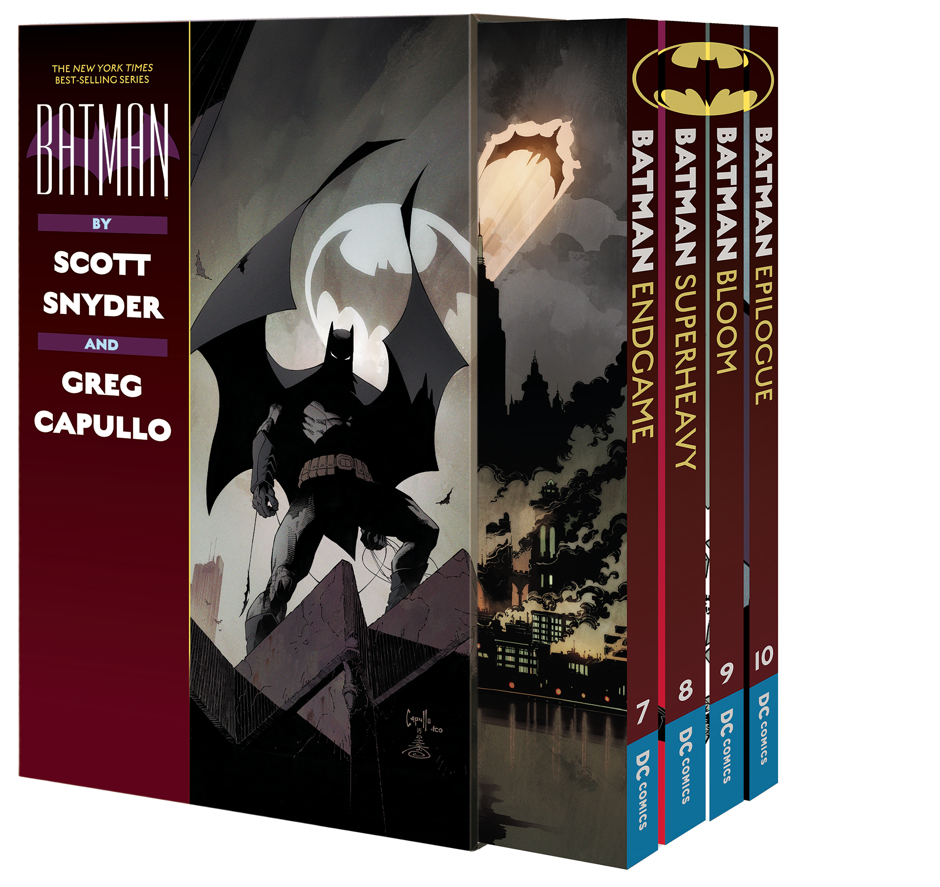 BATMAN BY SCOTT SNYDER & GREG CAPULLO BOX SET 3 (v7-10)