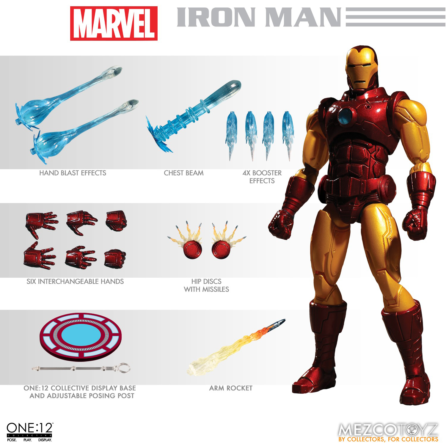 ONE-12 COLLECTIVE MARVEL IRON MAN AF