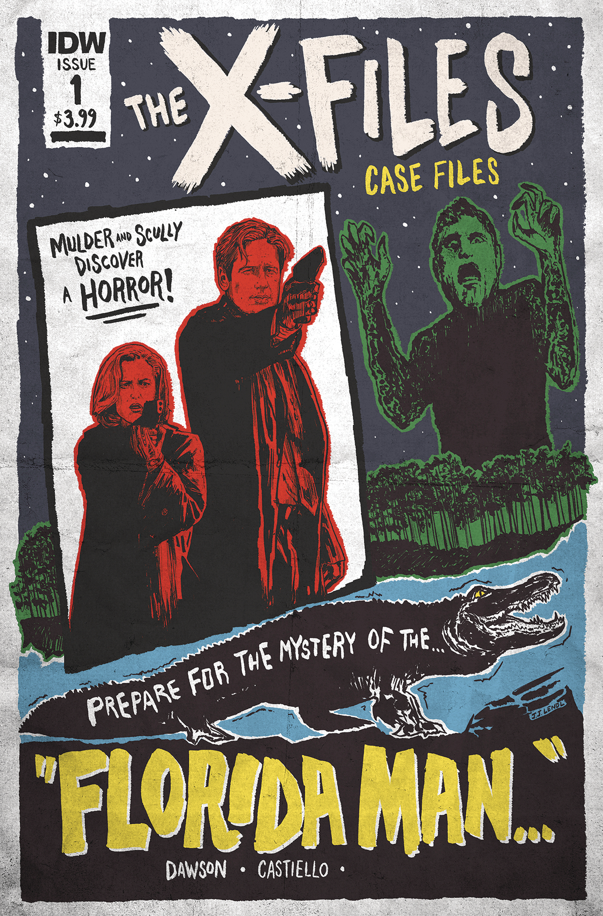 X-FILES CASE FILES FLORIDA MAN #1 CVR B LENDL