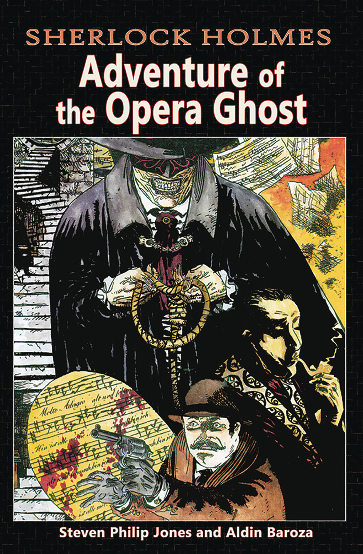SHERLOCK HOLMES ADVENTURES OF THE OPERA GHOST TP