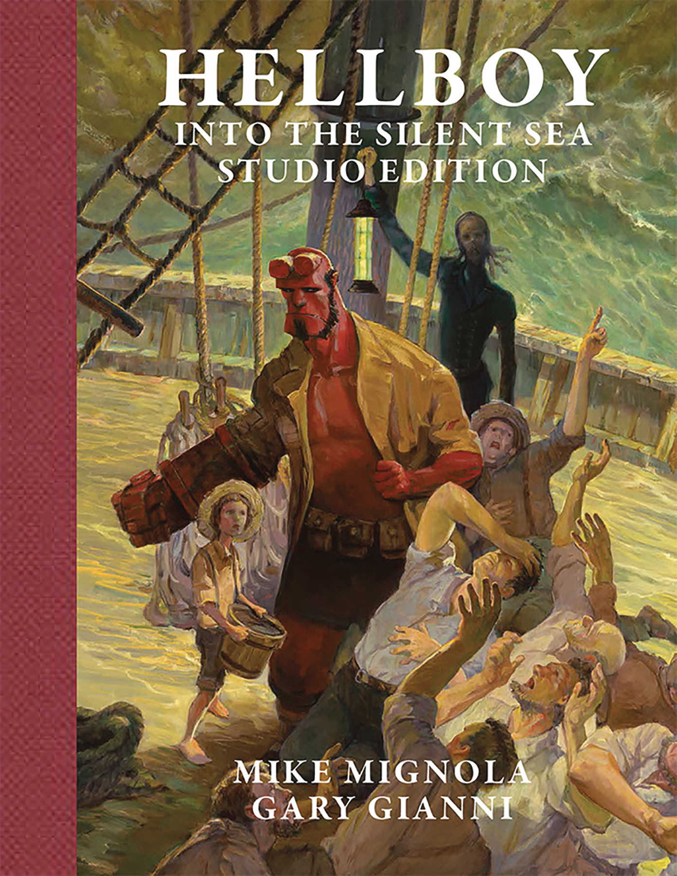 HELLBOY INTO THE SILENT SEA STUDIO ED