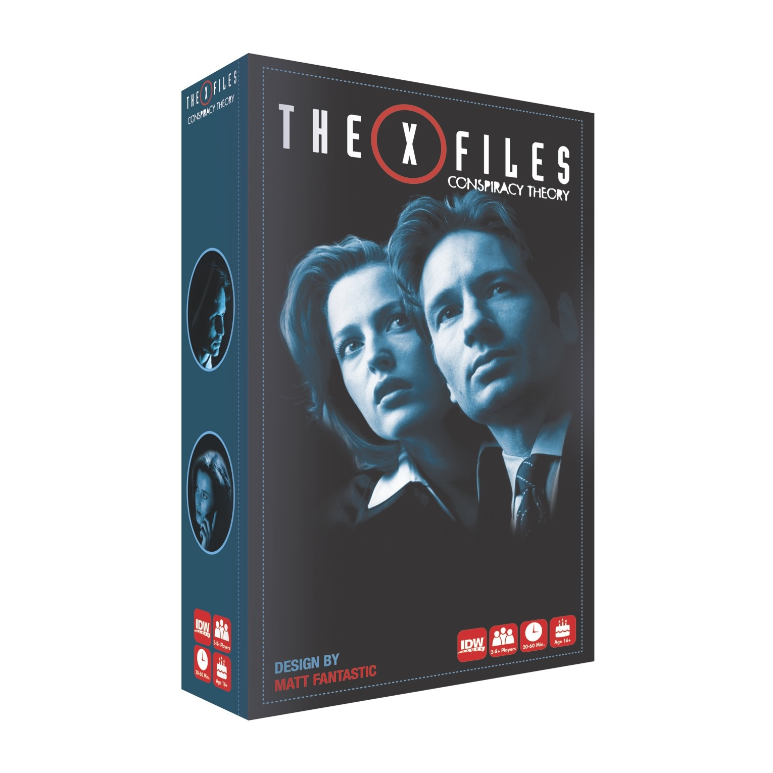 X-FILES CONSPIRACY THEORY GAME