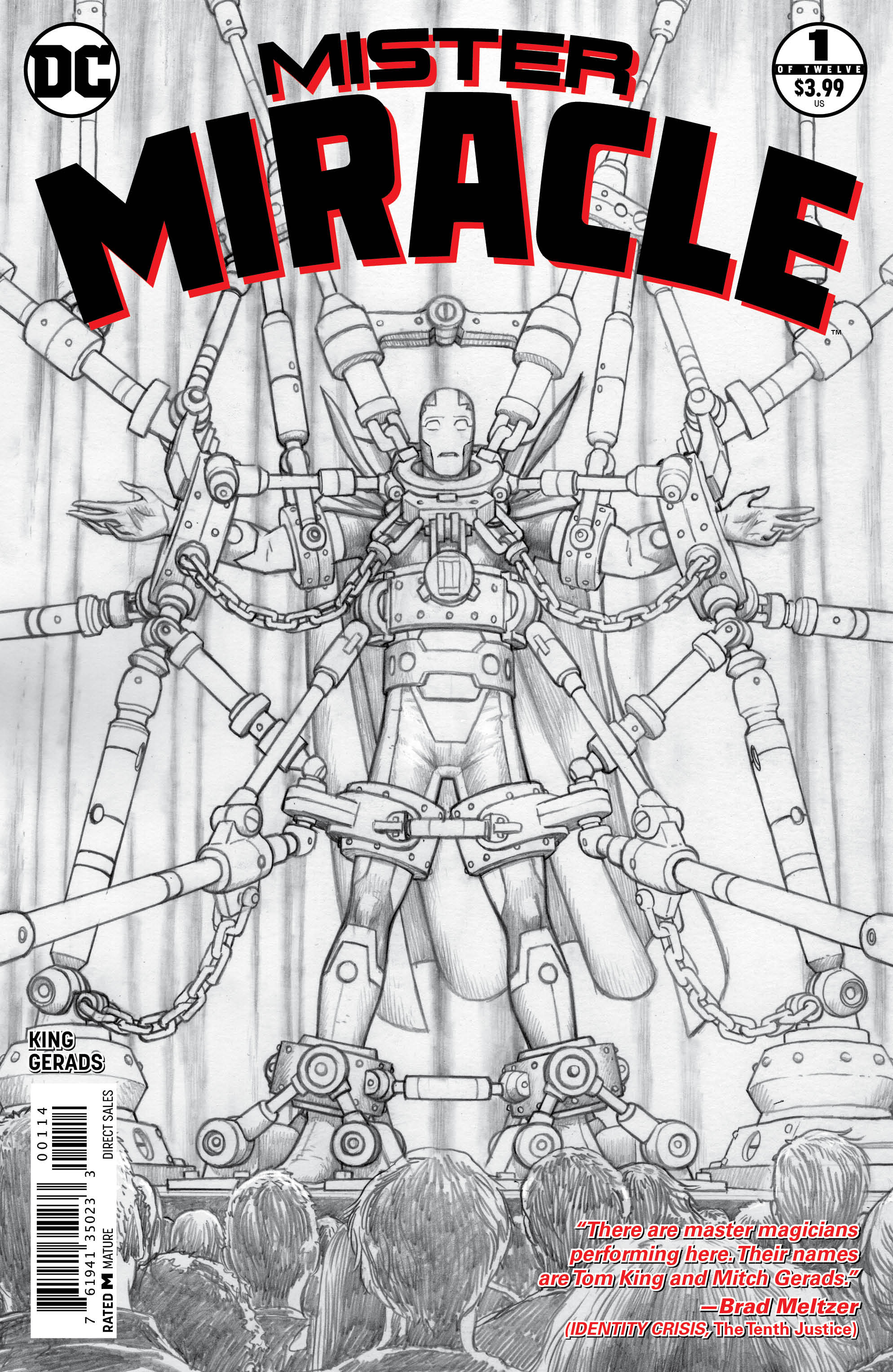MISTER MIRACLE #1 (OF 12) 4TH PTG (MR)