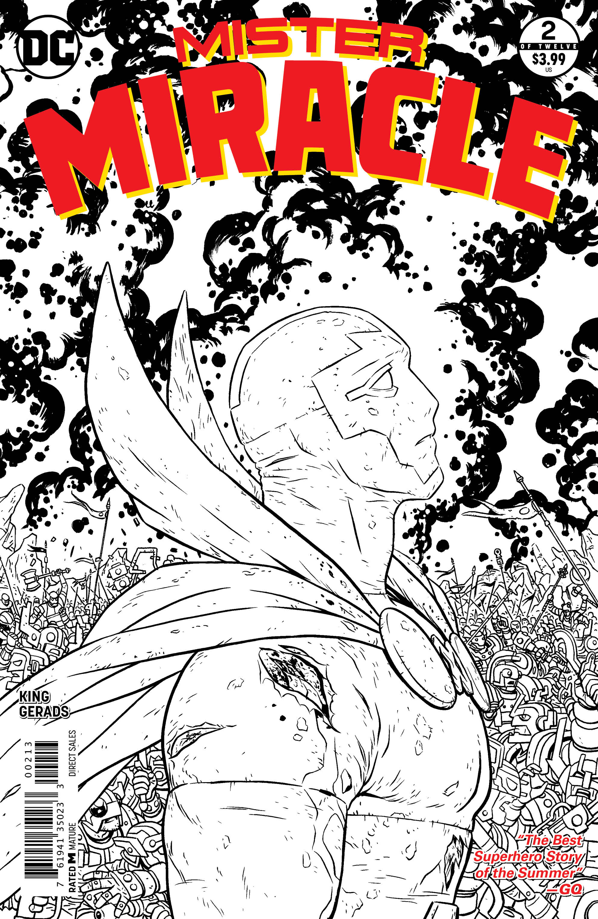 MISTER MIRACLE #2 (OF 12) 3RD PTG (MR)