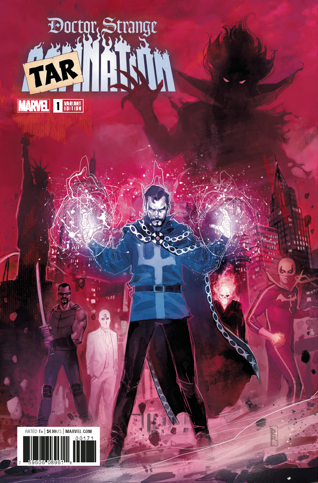 DOCTOR STRANGE DAMNATION #1 (OF 4) TARNATION VAR LEG