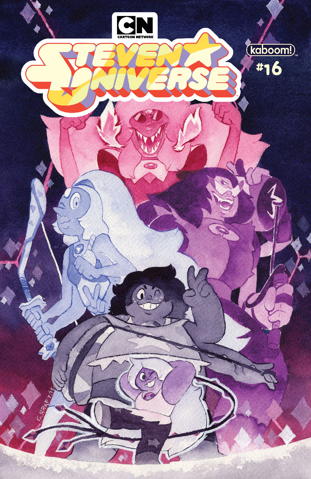 STEVEN UNIVERSE ONGOING #16