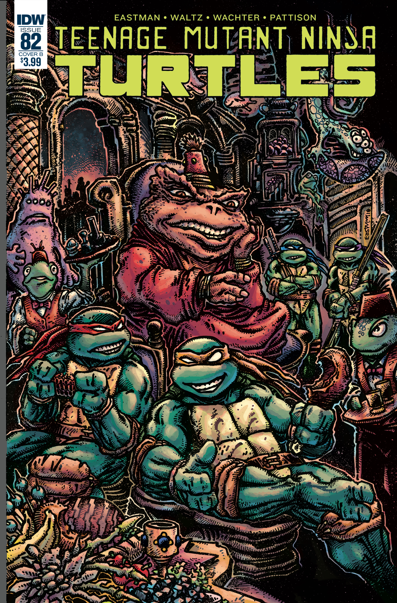 TMNT ONGOING #82 CVR B EASTMAN