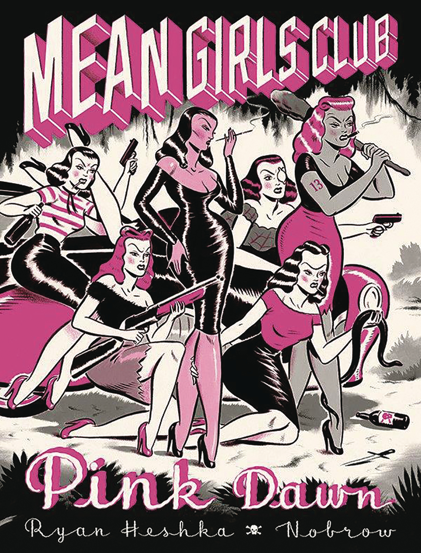 MEAN GIRLS CLUB PINK DAWN HC GN