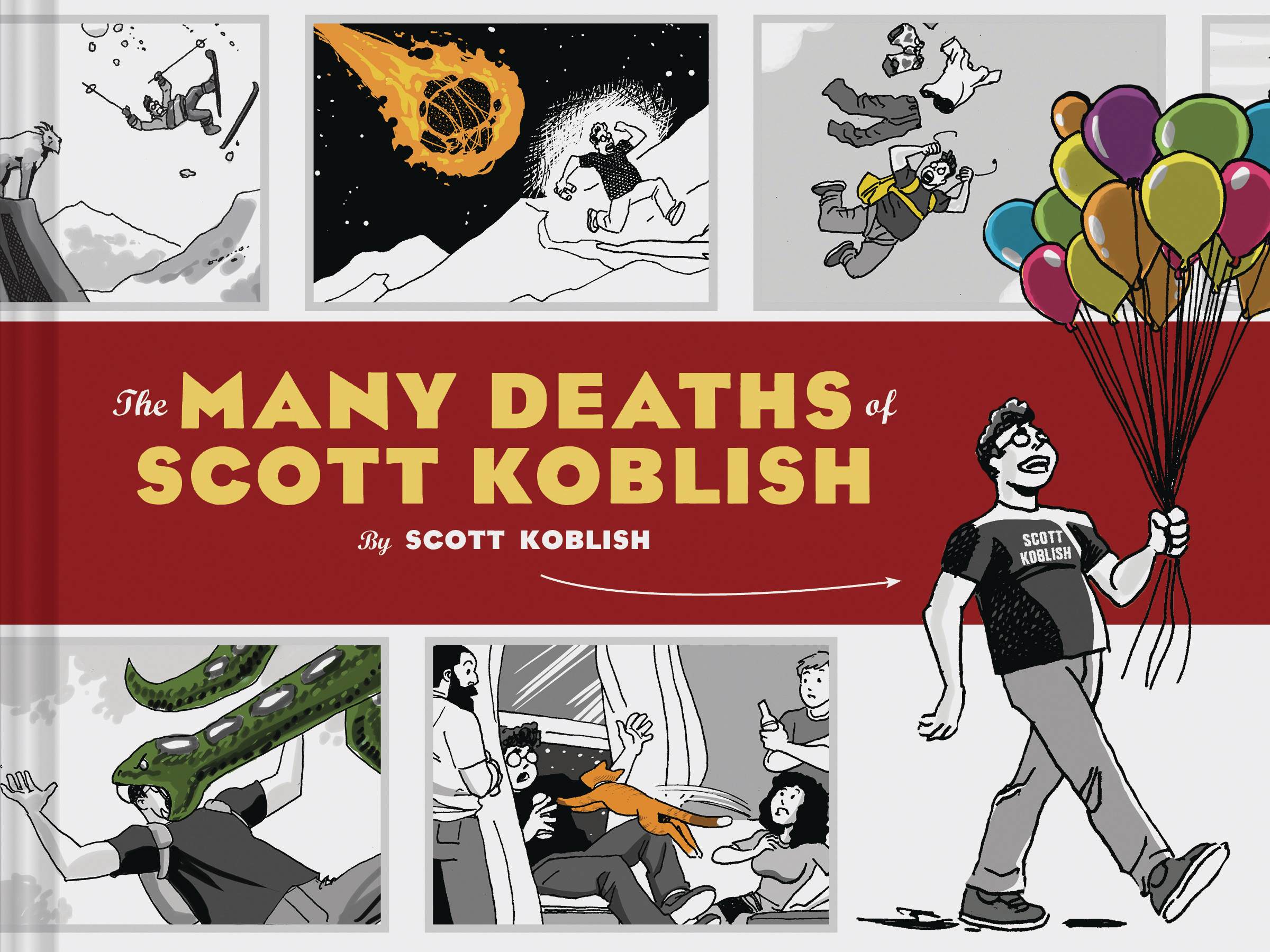 Image result for The Many Deaths of Scott Koblish