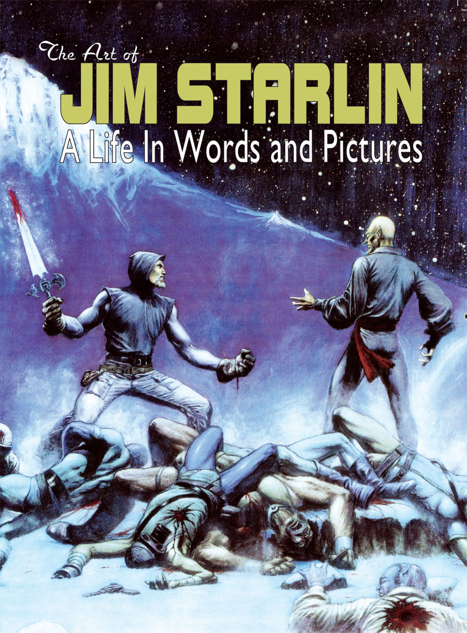 ART OF JIM STARLIN LIFE IN WORDS & PICTURES HC (MAR181077)