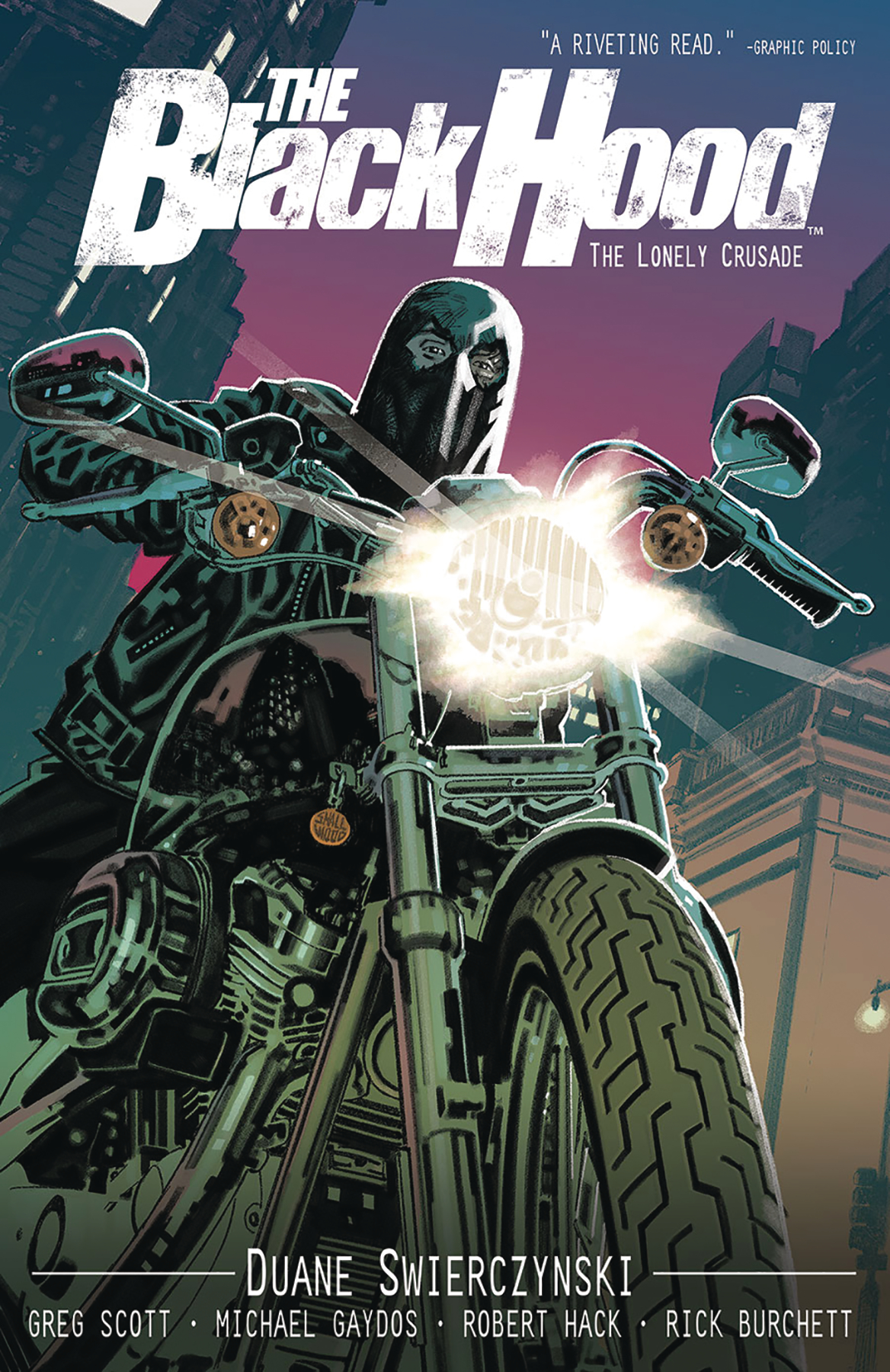 BLACK HOOD TP VOL 02 (MR)
