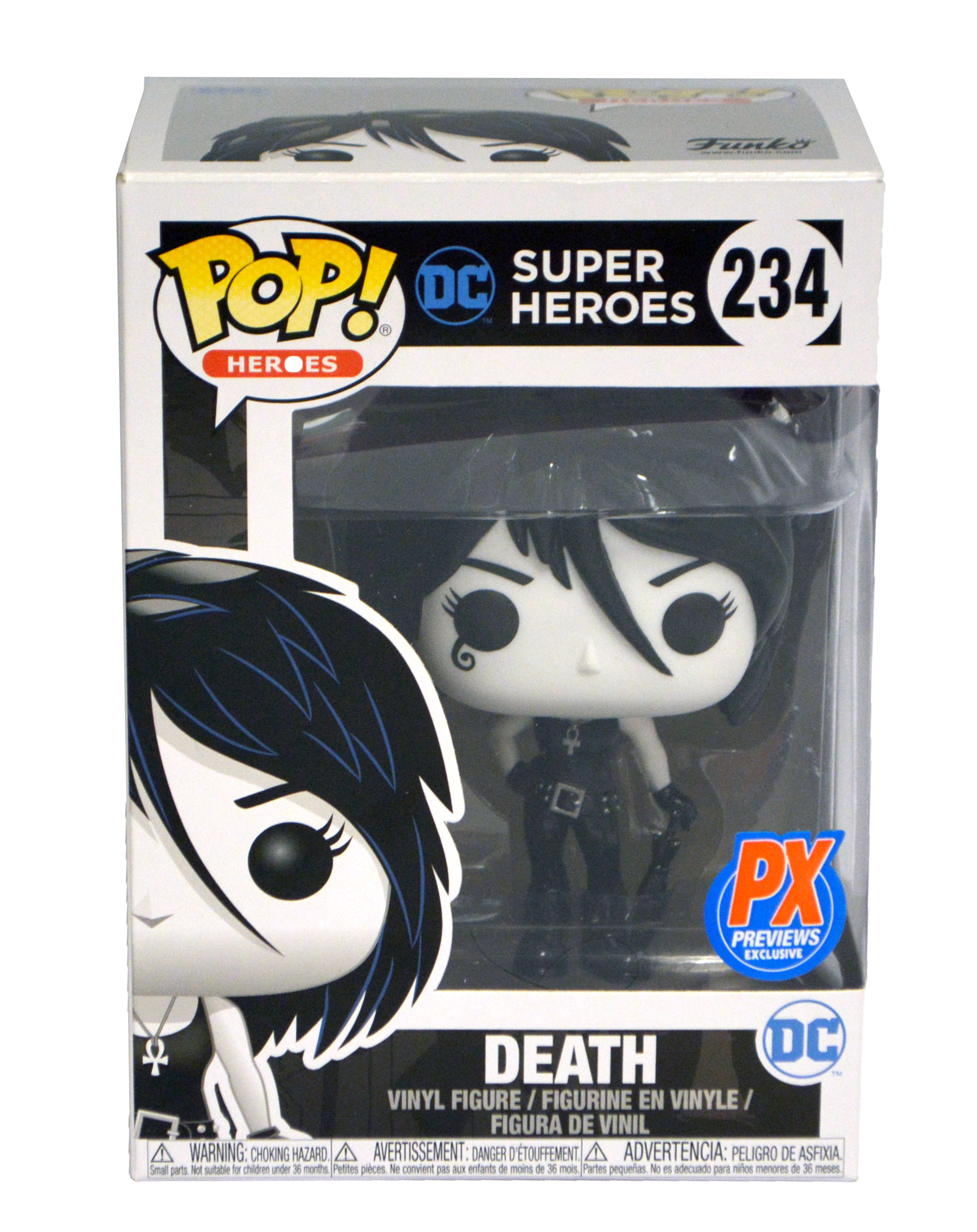 POP HEROES DC DEATH PX VINYL FIGURE